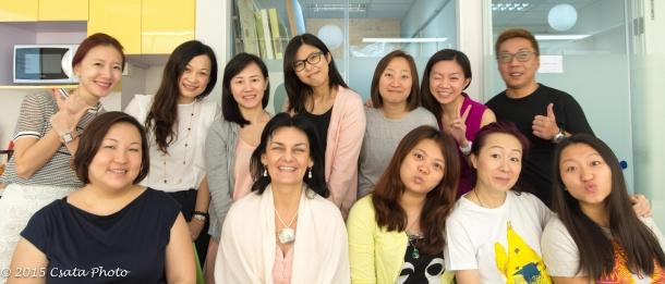 SCC class in Hong Kong in October 2015